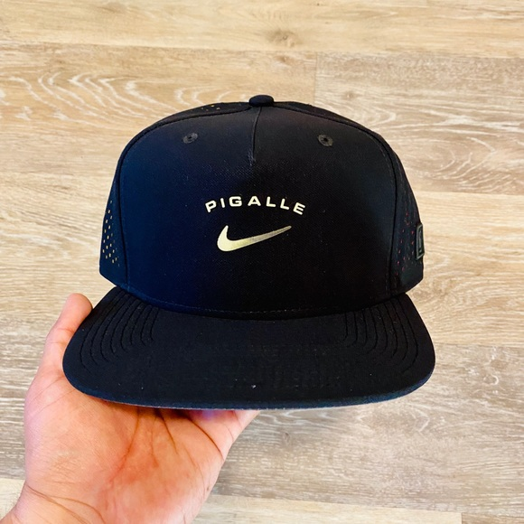 Nike Other - Nike x Pigalle Black Anthracite Snapback Hat